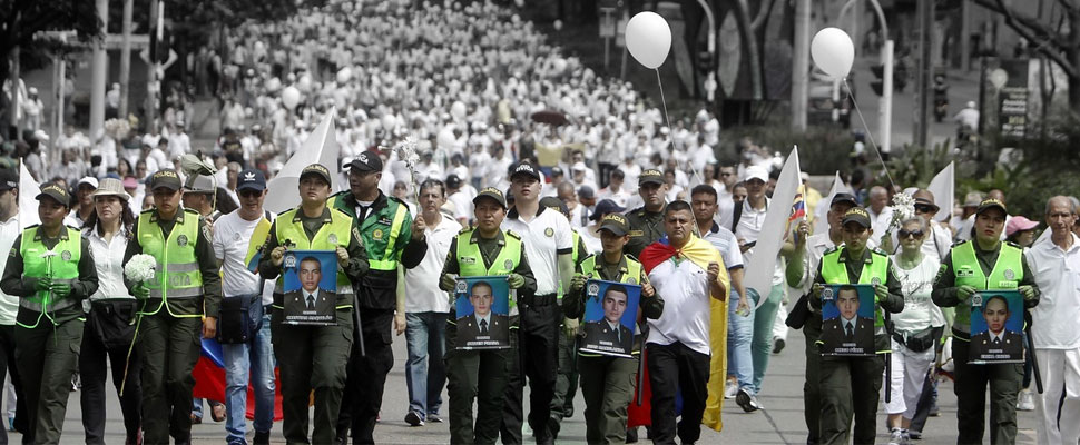 Colombia said no to terrorism