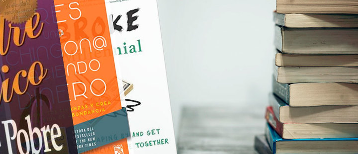 5 libros que te ayudarán a mantener tus finanzas en orden