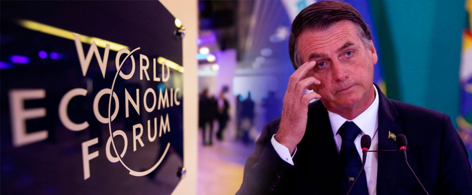 World Economic Forum 2019: Bolsonaro in the spotlight