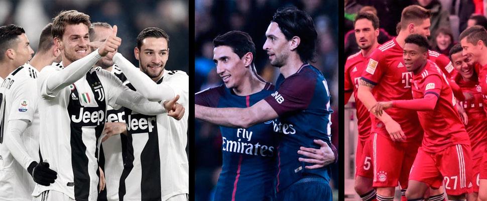 Italia, Alemania y Francia: cuando en el fútbol no hay competencia