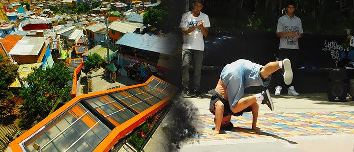 El arte: la opción de los jóvenes de la Comuna 13