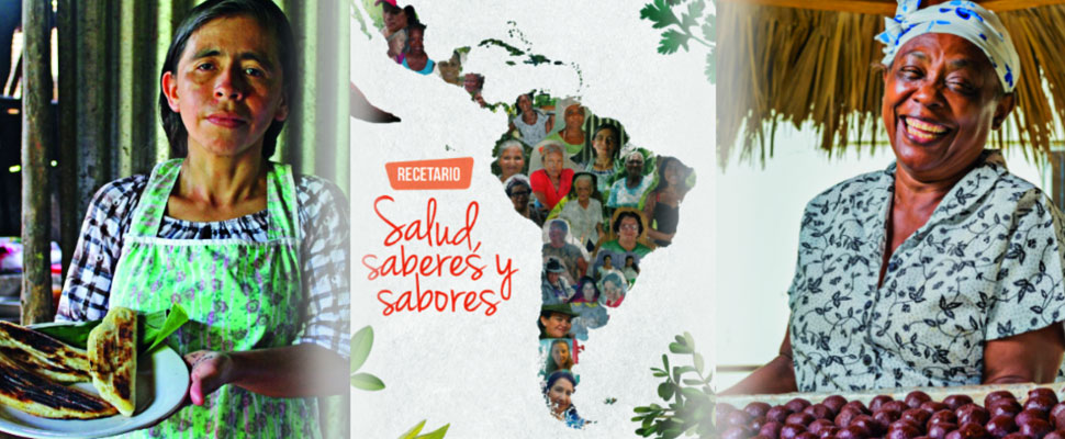 Health, knowledge and flavors: Latin America in a single recipe book