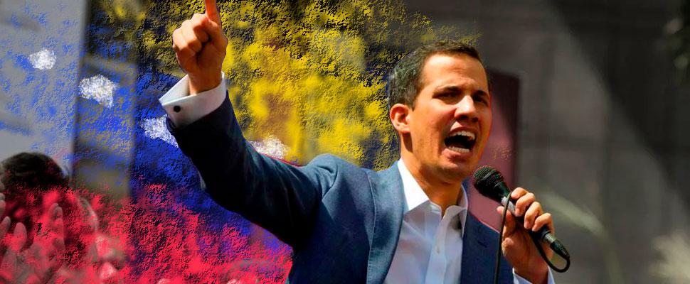 Juan Guaidó: Venezuela has a new president