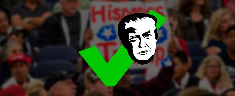 ¿Aumenta el apoyo de los latinos a Donald Trump?