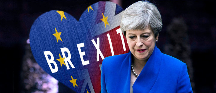 Theresa May y su deseado Brexit