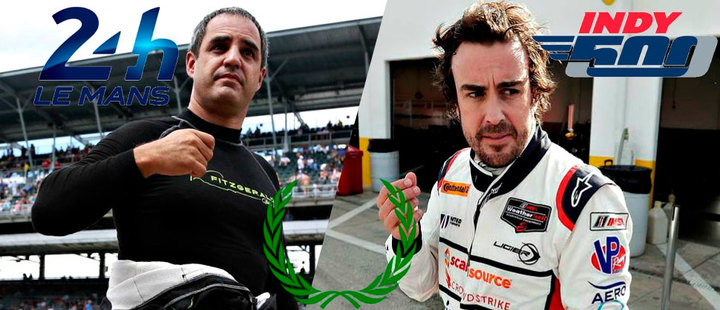 Montoya vs Alonso: Who will win the triple crown?