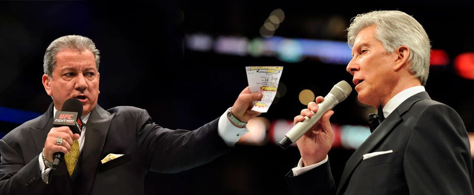 The brothers Michael and Bruce Buffer: the voices of boxing and the UFC