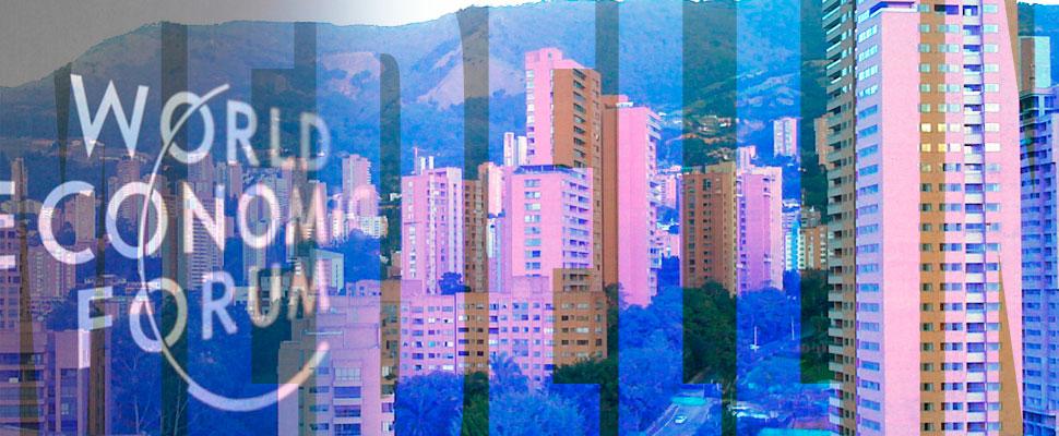 Medellín es ahora el centro del plan maestro de davos.