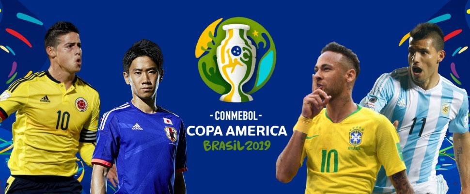 Estos son los favoritos para ganar la Copa América Brasil 2019