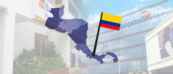 Los bancos en Centroamérica ahora son colombianos
