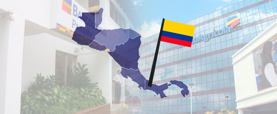 Banks in Central America: Colombia's property