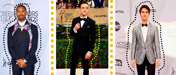 SAG Awards: la evolución de la alfombra roja masculina