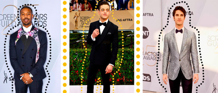 SAG Awards: the evolution of the male red carpet