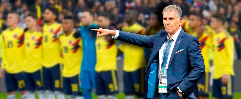 Is Carlos Queiroz the new coach of the Colombian National Team?