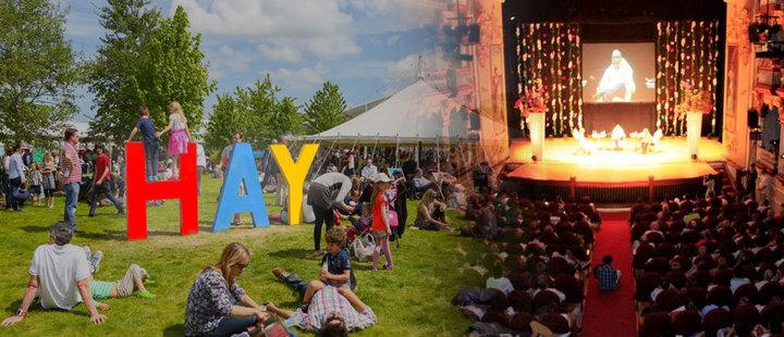 Hay Festival begins!