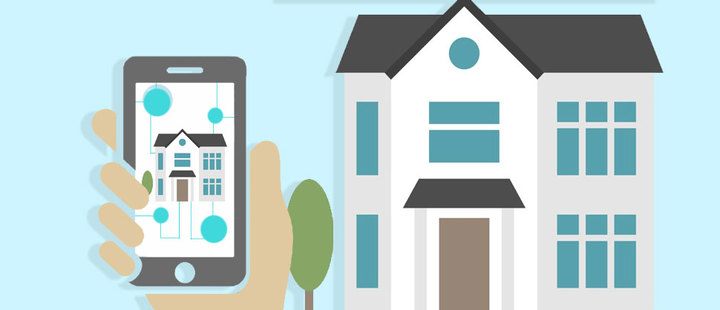 Control your home from you smartphone, and from afar