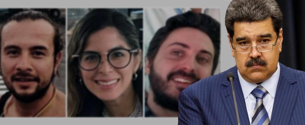 Secuestro y censura: detienen 3 periodistas en Venezuela