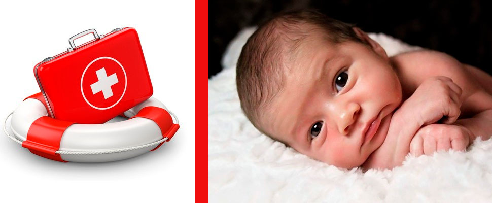 First aid for children and babies: this is what you should know