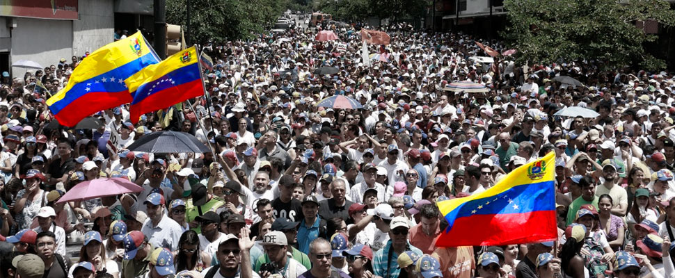 This is what happened in the February the 2nd protests in Venezuela