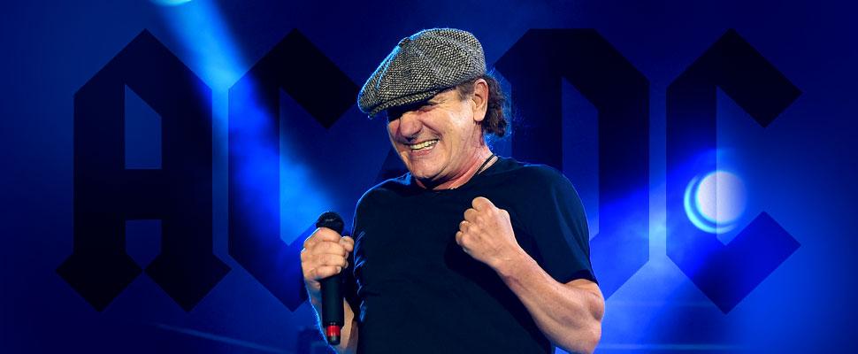 Brian Johnson vuelve a AC/DC, la legendaria banda de Hard Rock
