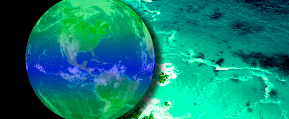 Climate Change will change the color of the oceans