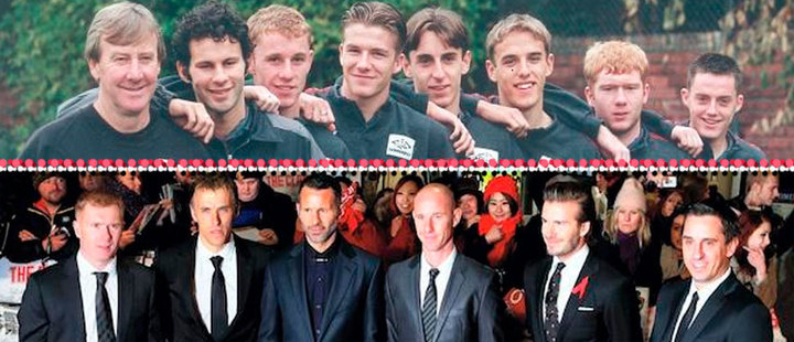 The Manchester United's 'class of 92' gets into the business world