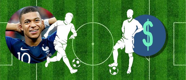 Fútbol: ¿Por qué cuesta más un delantero que un defensa?