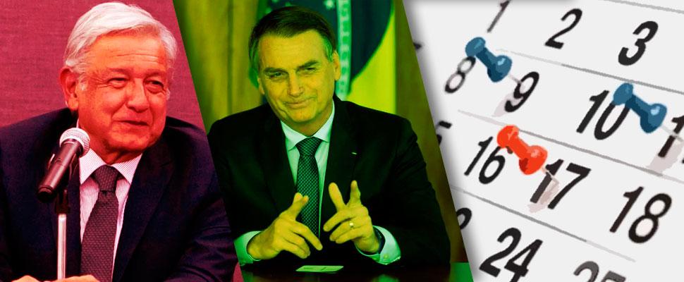 Brasil y México: ¿Cuál es el balance en sus primeros meses de gobierno?