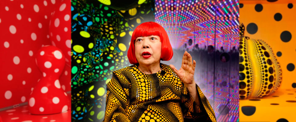 Yayoi Kusoma: the Japanese artist who goes out of the traditional