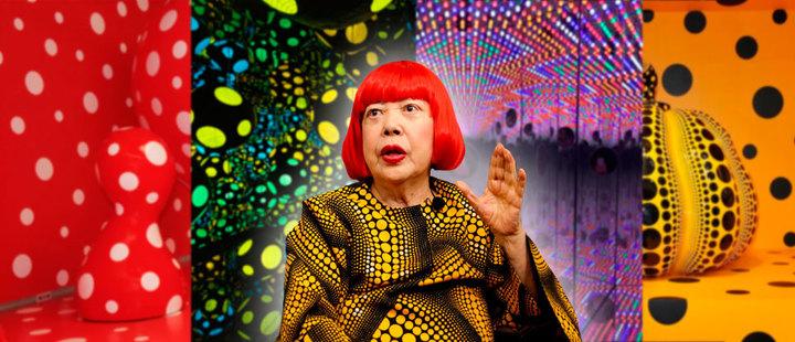 Yayoi Kusoma: la artista japonesa que se sale de lo tradicional