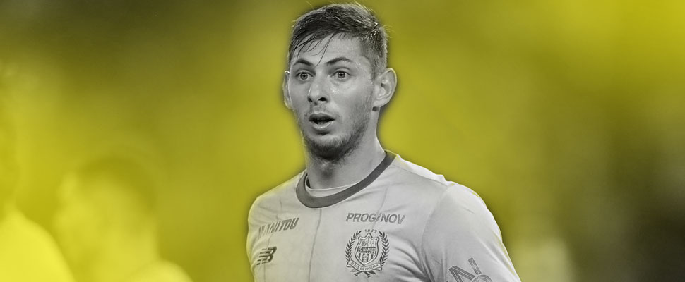 Mourning in football: goodbye Emiliano Sala
