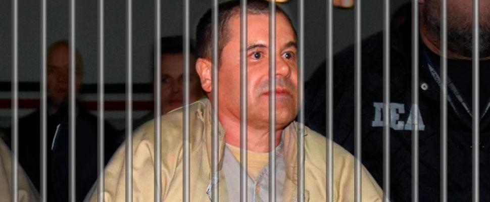 ¡Tras las rejas! El Chapo Guzmán es condenado