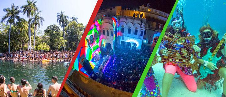 Las locaciones más raras de festivales de música