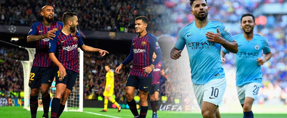 Champions League: Barça y City son los grandes favoritos