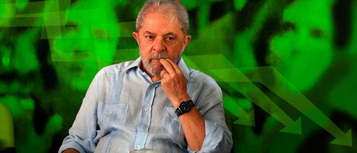 Brasil: Lula cae en picada