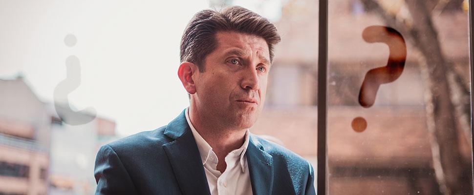 Diego Molano: precandidato a la alcadía de Bogotá