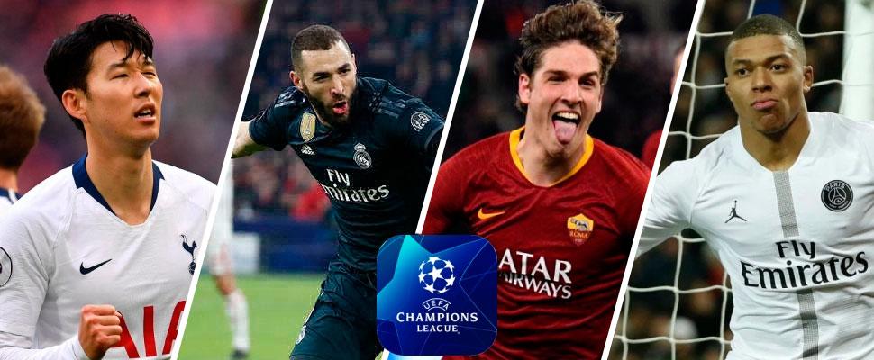 PSG, Real Madrid y Tottenham: ¡cómodos para los partidos de vuelta!