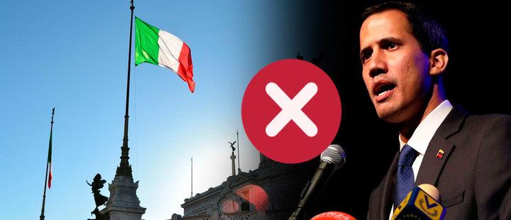 ¿Por qué Italia no ha reconocido a Guaidó como presidente interino?
