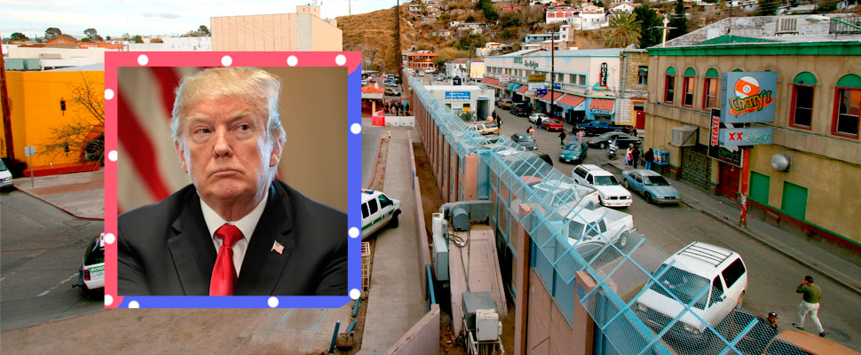 "Smart Wall, an ""economic"" alternative to the Trump Wall"