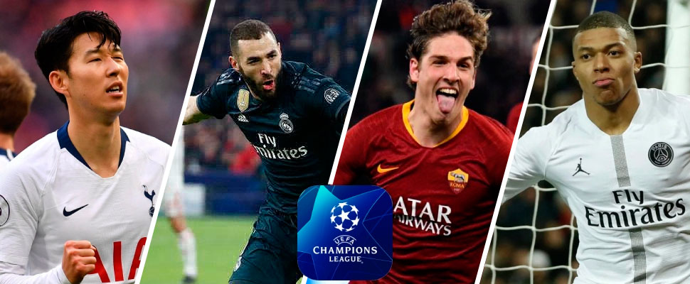 PSG, Real Madrid and Tottenham are comfortable for the return matches