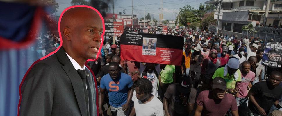 Haití: marchas masivas en contra del presidente Jovenel Moïse