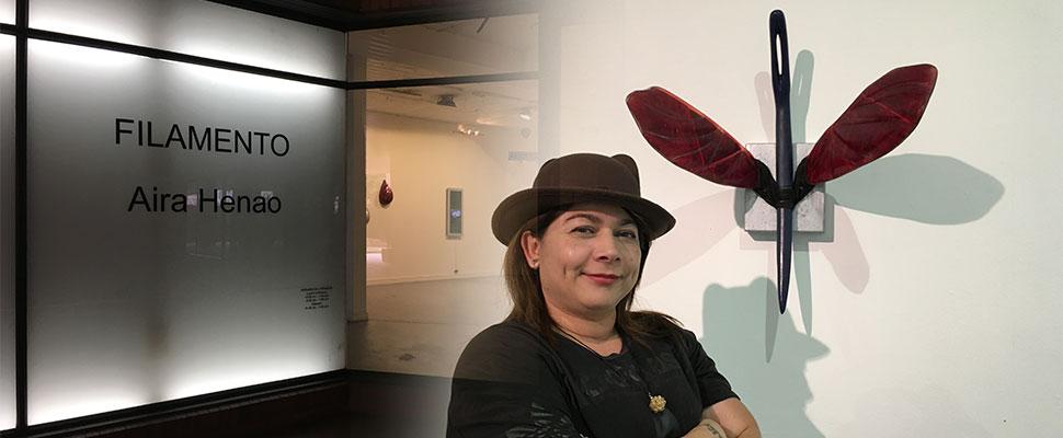 Conoce la artista colombiana que propone un filamento para el alma