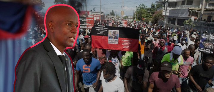 Haiti: massive marches against President Jovenel Moïse
