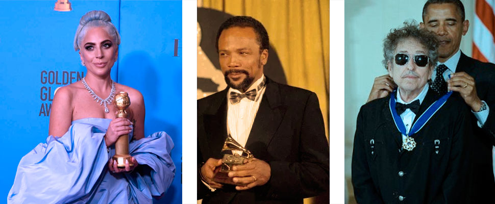 Multi-talented: celebrities who have won awards outside their industry