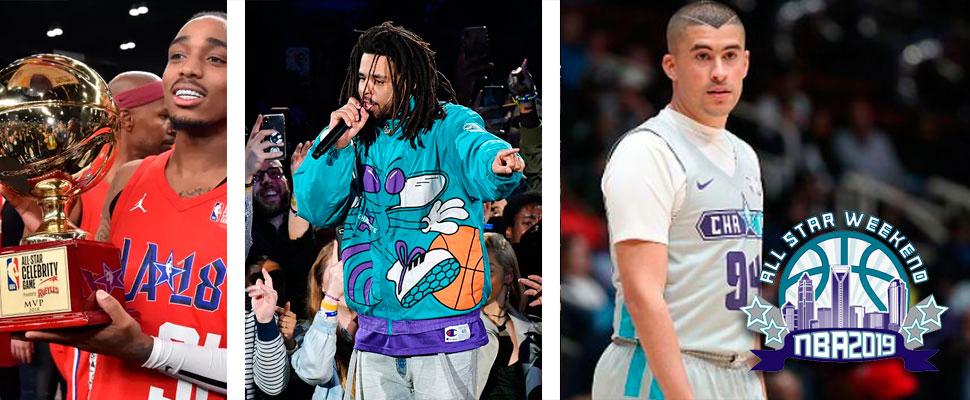 NBA: de basket y celebridades