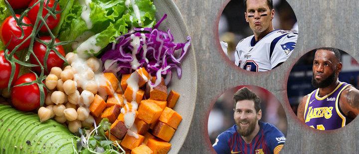 ¡Que dietas! Así se alimentan estos 5 grandes deportistas