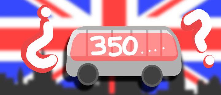 Una mentira escrita en un bus: esto es el costo real del Brexit
