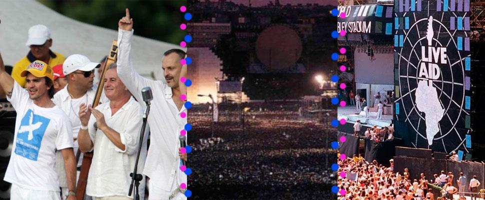 5 grandes conciertos por una causa política