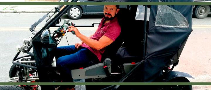 Nos montamos en el carro eléctrico más barato de Latinoamérica