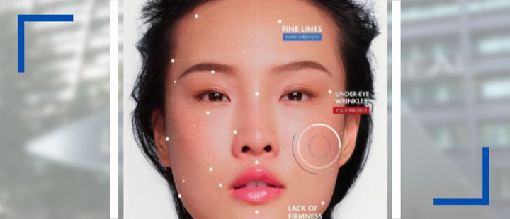 How does your skin face age? This app will let you know